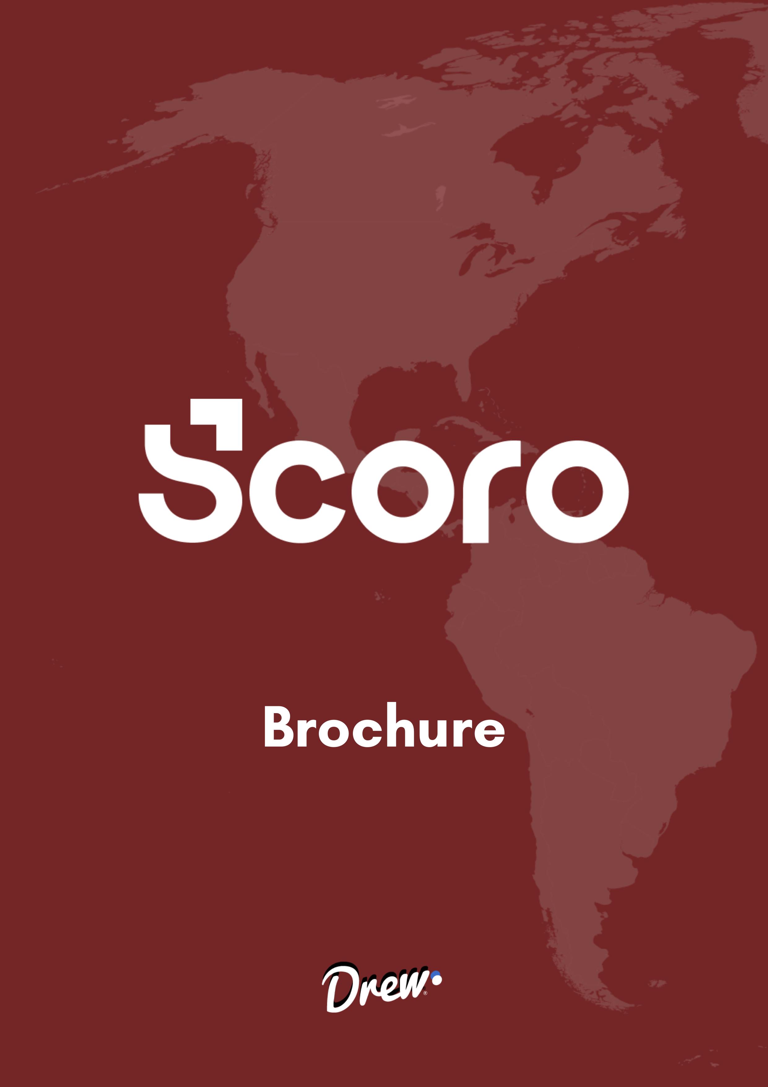 Brochure de Scoro